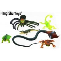 Hang Shuntoys Wild Animals Plastic Toys For Kids (6 Pcs. Pack)