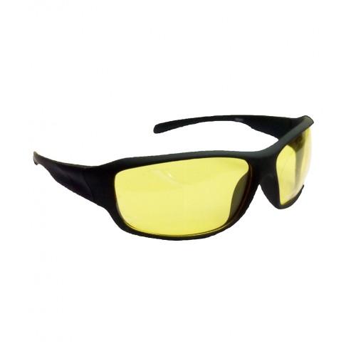 Buy HRINKAR Sports Yellow Lens Black Frame Sunglasses ...