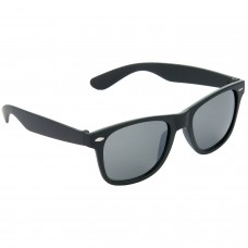 Stylish Plastic Frame Black Lens & Black Frame Sunglasses for Men and Women - HRS24