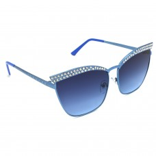 TARA JARMON TJ-BX330-BLU-BLU_1 Cat-eye Sunglasses (Blue)