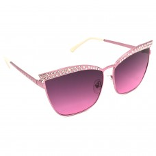 TARA JARMON TJ-BX330-PNK-PNK_1 Cat-eye Sunglasses (Pink)