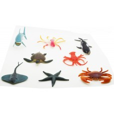 Hang Shuntoys Ocean Animals Plastic Toys For Kids (8 Pcs. Pack)