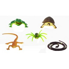 Hang Shuntoys Wild Animals Plastic Toys For Kids (5 Pcs. Pack)