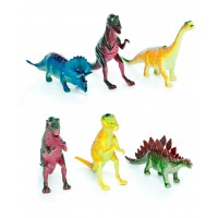 Hang Shuntoys Dinosaurs Animals Plastic Toys for Kids ( 6 Pcs. Pack )