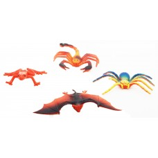 Hang Shuntoys Wild Animals Plastic Toys For Kids (4 Pcs. Pack)