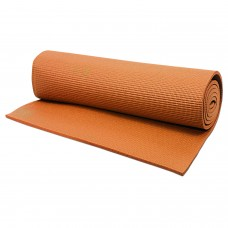 Hrinkar® 3mm 24 X 68 inch Premium Quality Orange Yoga Mat