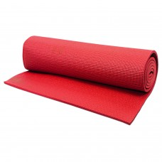 Hrinkar® 4mm 24 X 68 inch Premium Quality Red Yoga Mat