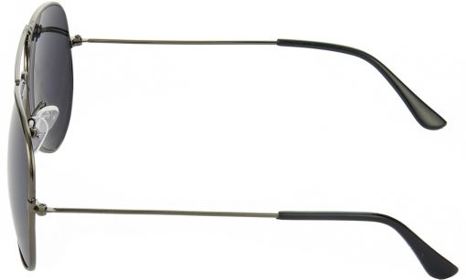 Air Strike Black Lens Grey Frame Pilot Stylish Sunglasses For Men Women Boys Girls - extra 2