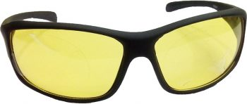 Air Strike Yellow Lens Black Frame Sports Sunglass Stylish For Sunglasses Men Women Boys Girls - extra 1