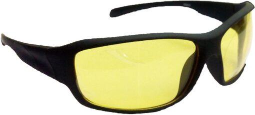 Air Strike Yellow Lens Black Frame Sports Sunglass Stylish For Sunglasses Men Women Boys Girls - extra 3
