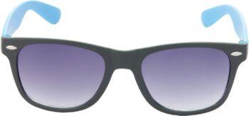 Air Strike Grey Lens Black Frame Rectangular Stylish Sunglasses For Men Women Boys Girls - extra 1