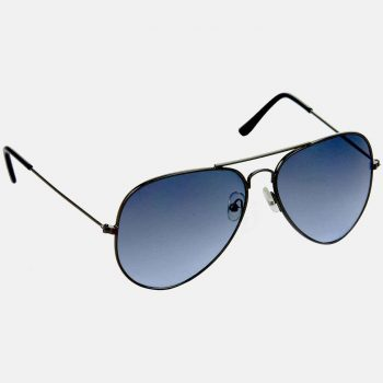 Air Strike Blue & Yellow Lens Grey & Silver Frame Sunglasses For Men & Boys - HCMBO663 - extra -5