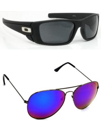 Air Strike Black & Golden Lens Black Frame Latest Goggles For Men Women Boys & Girls - HCMBO2387
