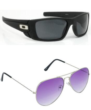 Air Strike Black & Brown Lens Black & Brown Frame Safety Goggles For Men & Boys - HCMBO2409
