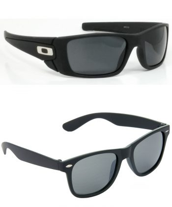Air Strike Black & Brown Lens Black & Brown Frame New Sunglasses For Men & Boys - HCMBO2425