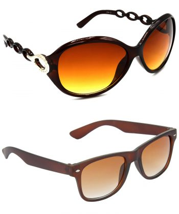 Air Strike Brown Lens Brown Frame Latest Goggles For Men Women Boys & Girls - HCMBO3118