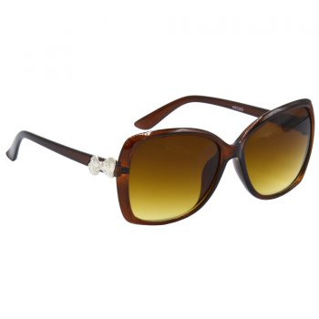 Air Strike Clear & Yellow Lens Brown & Silver Frame Sunglasses For Men Women Boys & Girls - HCMBO4114 - extra -5