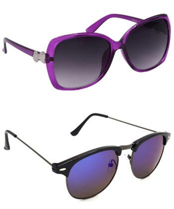 Air Strike Grey Lens Grey Frame Sunglasses For Men Women Boys & Girls - HCMBO4165