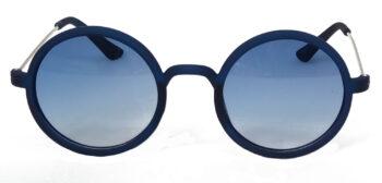 Air Strike Blue & Yellow Lens Blue & Silver Frame Sunglasses Styles For Men Women Boys & Girls - HCMBO3469 - extra -1