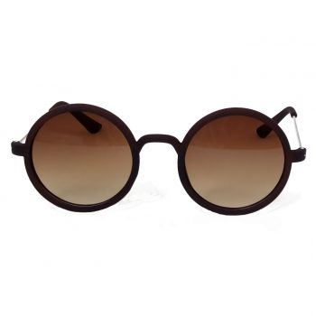 Air Strike Brown & Yellow Lens Silver Frame Sun Goggles For Men Women Boys & Girls - HCMBO3688 - extra -1