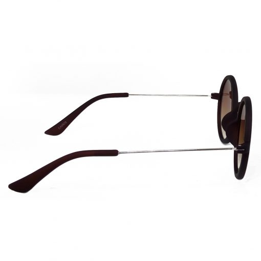 Air Strike Brown & Yellow Lens Silver Frame Sun Goggles For Men Women Boys & Girls - HCMBO3688 - extra -3