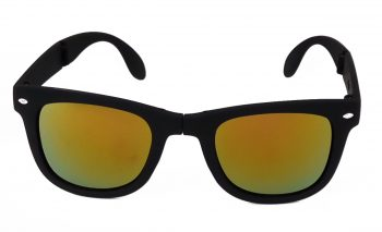 Air Strike Pink & Yellow Lens Black & Silver Frame Fashion Goggles For Men & Boys - HCMBO3796 - extra -1