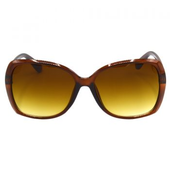 Air Strike Clear & Yellow Lens Brown & Silver Frame Sunglasses For Men Women Boys & Girls - HCMBO4114 - extra -1