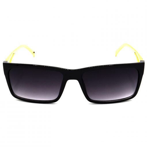 Air Strike Grey & Yellow Lens Golden & Silver Frame Fashion Goggles For Men Women Boys & Girls - HCMBO4918 - extra -1