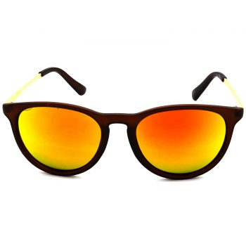 Air Strike Golden & Yellow Lens Golden & Silver Frame Sunglasses Styles For Men Women Boys & Girls - HCMBO5203 - extra -1