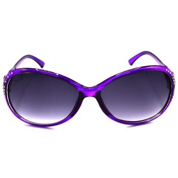 Air Strike Grey & Yellow Lens Violet & Silver Frame UV Protection Glasses For Men Women Boys & Girls - HCMBO5833 - extra -1