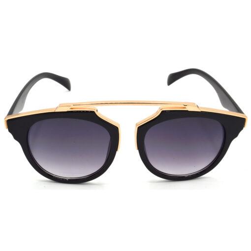 Air Strike Grey & Yellow Lens Golden & Silver Frame Sunglasses Styles For Men Women Boys & Girls - HCMBO7804 - extra -1