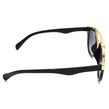 Air Strike Grey & Yellow Lens Golden & Silver Frame Sunglasses Styles For Men Women Boys & Girls - HCMBO7804 - extra -3