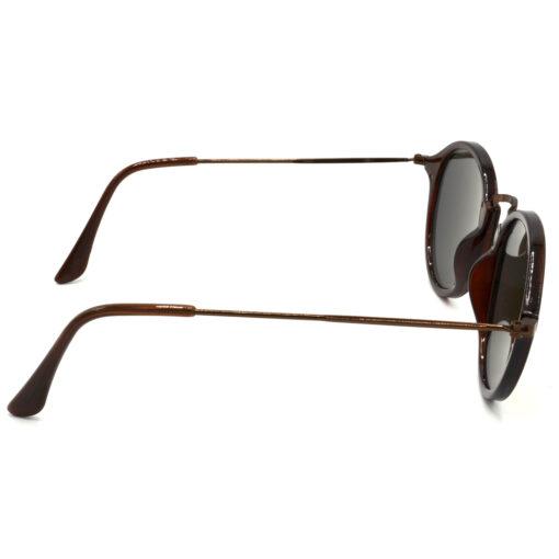Air Strike Golden & Yellow Lens Brown & Silver Frame Sunglasses For Men Women Boys & Girls - HCMBO8143 - extra -3