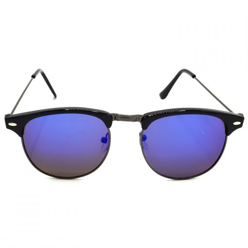Air Strike Grey & Yellow Lens Grey & Silver Frame UV Protection Glasses For Men Women Boys & Girls - HCMBO8196 - extra -1