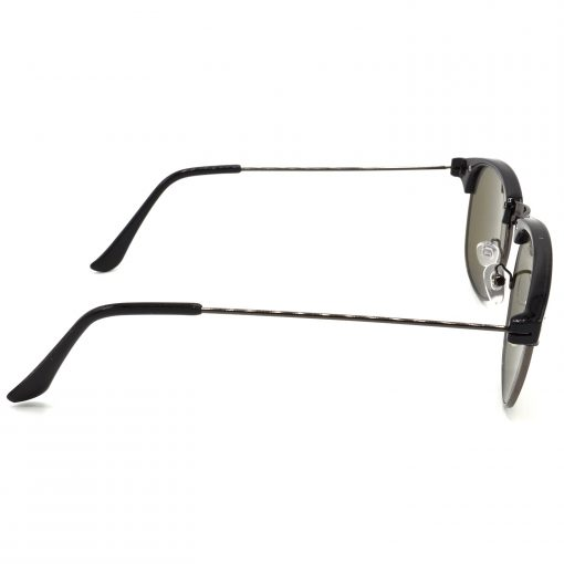 Air Strike Grey & Yellow Lens Grey & Silver Frame UV Protection Glasses For Men Women Boys & Girls - HCMBO8196 - extra -3