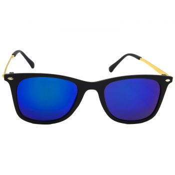 Air Strike Pink & Yellow Lens Golden & Silver Frame Sunglasses Styles For Men Women Boys & Girls - HCMBO8671 - extra -1