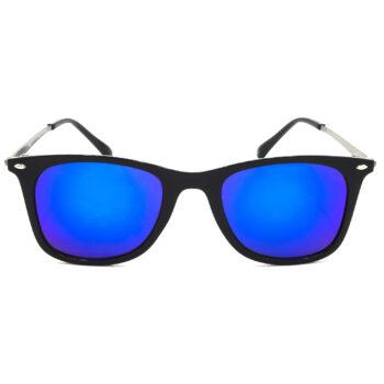 Air Strike Blue & Yellow Lens Grey & Silver Frame Sun Goggles For Men Women Boys & Girls - HCMBO8754 - extra -1