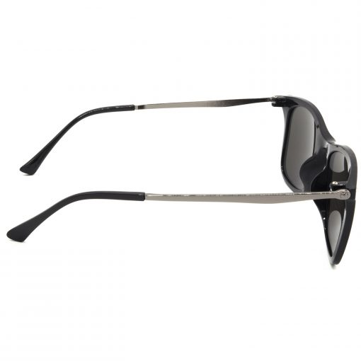 Air Strike Blue & Yellow Lens Grey & Silver Frame Sun Goggles For Men Women Boys & Girls - HCMBO8754 - extra -3