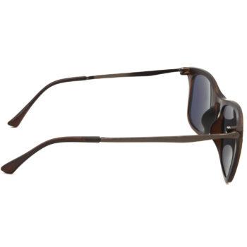 Air Strike Golden & Yellow Lens Brown & Silver Frame UV Protection Glasses For Men Women Boys & Girls - HCMBO8944 - extra -3
