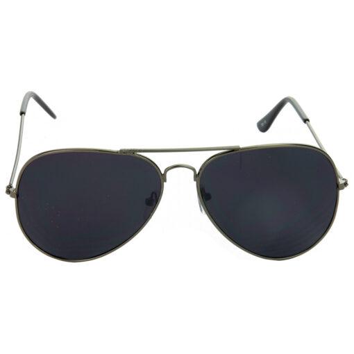 Air Strike Brown & Black Lens Brown & Grey Frame UV Protection Sunglasses For Men Women Boys & Girls - HCMBO9016 - extra -2