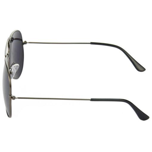 Air Strike Brown & Black Lens Brown & Grey Frame UV Protection Sunglasses For Men Women Boys & Girls - HCMBO9016 - extra -4