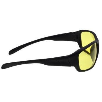 Air Strike Brown & Yellow Lens Brown & Black Frame Sunglasses Styles For Men Women Boys & Girls - HCMBO9028 - extra -4