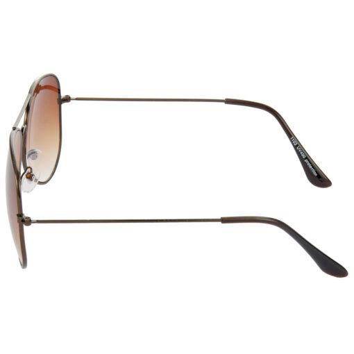 Air Strike Brown Lens Brown Frame UV Protection Glasses For Men Women Boys & Girls - HCMBO9029 - extra -4