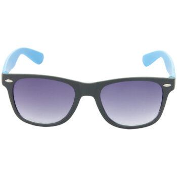 Air Strike Brown & Grey Lens Brown & Blue Frame UV Protection Sunglasses For Men Women Boys & Girls - HCMBO9033 - extra -2