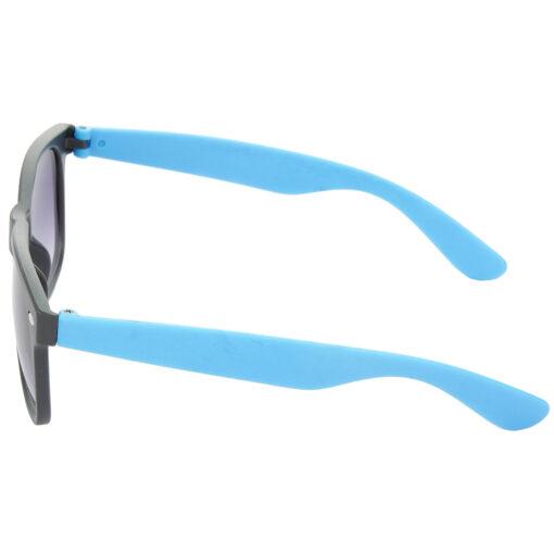 Air Strike Brown & Grey Lens Brown & Blue Frame UV Protection Sunglasses For Men Women Boys & Girls - HCMBO9033 - extra -4