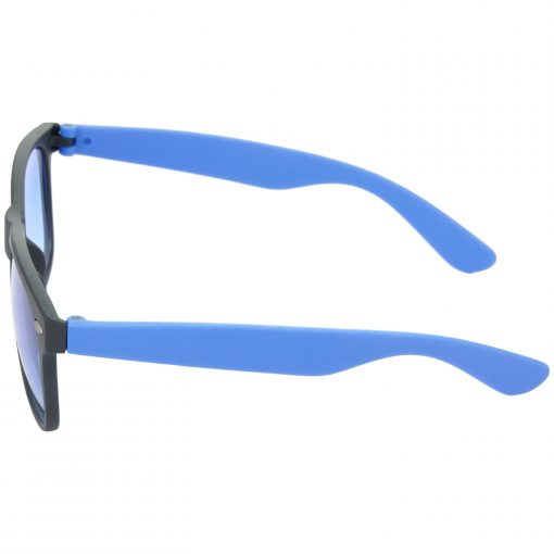 Air Strike Brown & Blue Lens Brown & Blue Frame Safety Goggles For Men Women Boys & Girls - HCMBO9039 - extra -4