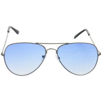 Air Strike Brown & Blue Lens Brown & Grey Frame Sun Goggles For Men Women Boys & Girls - HCMBO9043 - extra -2