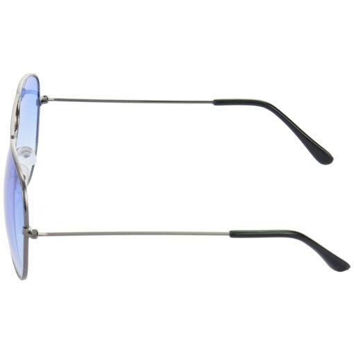 Air Strike Brown & Blue Lens Brown & Grey Frame Sun Goggles For Men Women Boys & Girls - HCMBO9043 - extra -4