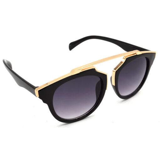 Air Strike Grey & Yellow Lens Golden & Silver Frame Sunglasses Styles For Men Women Boys & Girls - HCMBO7804 - extra -5