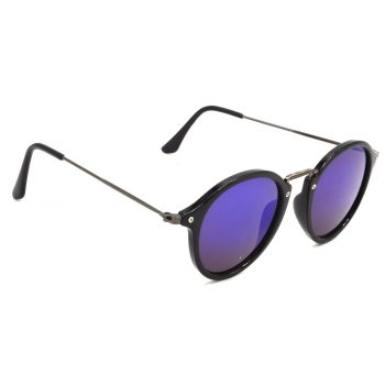 Air Strike Violet & Yellow Lens Grey & Silver Frame Stylish Goggles For Men Women Boys & Girls - HCMBO8089 - extra -5